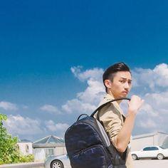 🌤 時尚獵人 #HUNTER 冒險精神 魔幻迷彩 #packyourporter #4of4 #一小角 #對又分開po #blue #迷彩 #backpack #porter #porter_international