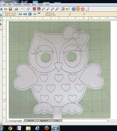 Hooty Owl Applique Pattern in EQ7 by Freemotionbytheriver