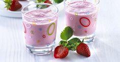 Smoothie med jordbær og melk