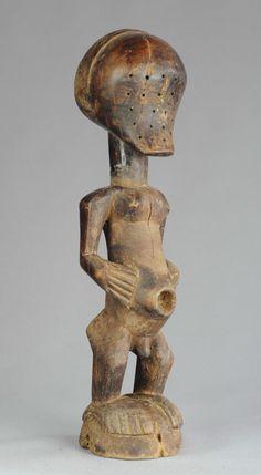 RARE Fétiche Songye aveugle Nkisi Congo blind Fetish power figure statue Africa | eBay
