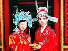 Some People In Traditional Chinese Clothing