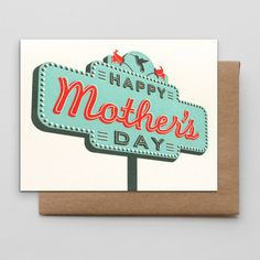 Mother's Day Sign from HAMMERPRESS