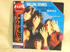 CD/Japan- THE ROLLING STONES Through The Past, Darkly w/OBI RARE MINI-LP SHAPED #RocknRoll