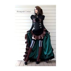 Victorian Gentleman ❤ liked on Polyvore featuring dresses and steampunk