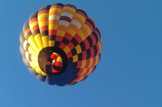First balloon up at sunrise