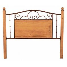 Rustic Bed Furniture :- Rustic headboard with solid wood construction and wrought iron accents. Single, Full, Queen, and King all available. Headboard only, frame not included. PLEASE NOTE: Orders consisting of a single headboard will likely require extra shipping charges due to the unusual size restrictions. Check with our customer service representatives for more details.