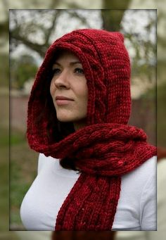 1000+ ideas about Hooded Scarf on Pinterest Crocheting ...