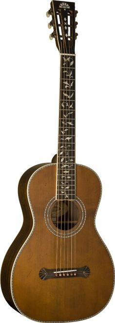 Washburn R320SWRK Parlor Guitar. An all-solid tonewood parlor guitar that has premium vintage appeal, without the premium price tag.