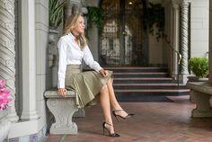Workwear Midi Skirt Vintage Flair Memorandum