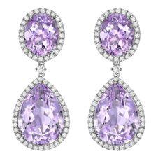 Kiki McDonough Lavender Amethyst Drop Earrings - $5525