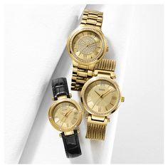 Pour tous les goûts venez voir les montres Guess pour femme. La nouveauté est tout simplement magnifique.