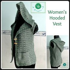 Ravelry: Women's Hooded Vest pattern by Maz Kwok