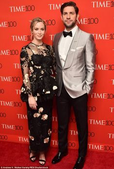 Family: Stanley and Felicity met at her sister Emily Blunt's wedding to John Krasinski in 2010. Emily and John are picture in April