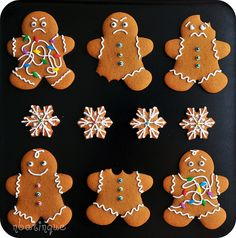 Gingerbread Men | Sweet Pudgy Panda | Flickr