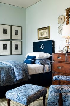 Design Details:  Monograms in Your Decor - Interiors by Patti  Blog - INTERIORS BY PATTI