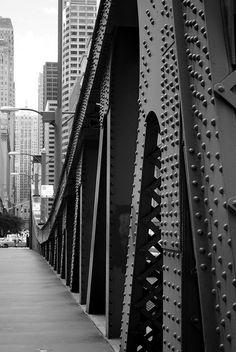 LaSalle Street Bridge? by Sally E J Hunter, via Flickr