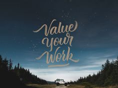 Value your Own Work