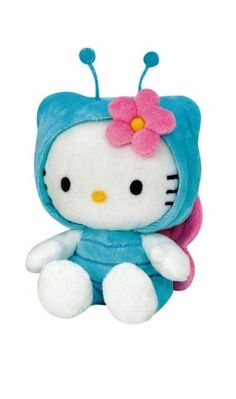 Hello Kitty Butterfly Mariposa Soft Toy Plush 16cm New | eBay