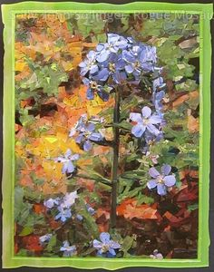 Forget-Me-Not For Love Alone  I love the mosaics by John Solly. Amazing!