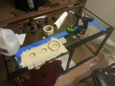 Drilling an aquarium http://www.3reef.com/forums/show-off-your-fish-tanks/120-gallon-build-thread-building-stage-142959-3.html#post1447226