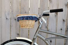 Spring Bike Basket Ruffle Tutorial