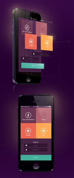 coherent yet not so ordinary colour combination makes this interface remarkable and memorable
