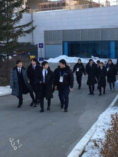 180221 #EXO @ Pyeongchang Olympics Closing Ceremony Press Conference