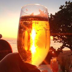 お酒に溶けるサンセット Sheraton Waikiki, Alcoholic Drinks, Hawaii, Glow, Wine, Liquor Drinks, Sparkle, Alcoholic Beverages, Hawaiian Islands