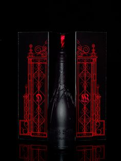 The Devil's Wine Champagne on Behance
