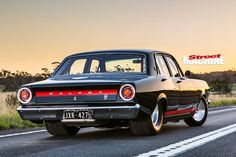 Ford -Falcon -XR-still -rear Australian Muscle Cars, Aussie Muscle Cars, Ford Falcon, Custom Muscle Cars, Custom Cars, Car Ford, Ford Gt, Old School Cars, Ford Classic Cars