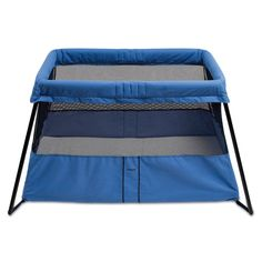 BABYBJÖRN Travel Crib Light 2: Sets up and is ready to use in one simple movement. Compact and lightweight (11lbs). #Babies #Travel_Bed #Baby_Bjorn