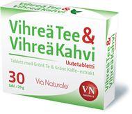 Vihreä Tee & Vihreä Kahvi Via naturale