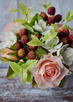 Курс флористика свадебный букет керамическая, васильковый букет фиалка