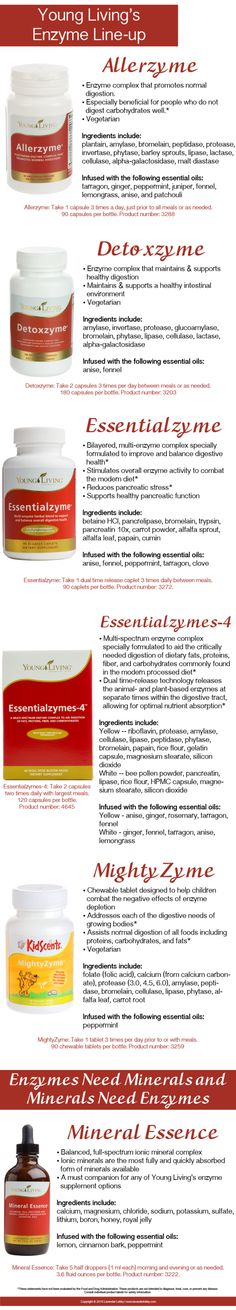 Young Living Essential Oils: Enzymes