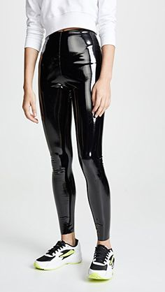 online shopping for Commando Faux Patent Leather Perfect Control Leggings from top store. See new offer for Commando Faux Patent Leather Perfect Control Leggings Leggings Mode, Leggings Fashion, Women's Leggings, Cheap Leggings, Fashion Pants, Vinyl Leggings, Sports Leggings, Patent Leather Leggings, Leather Pants