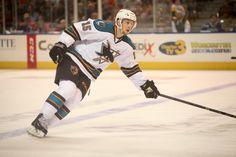 Worcester Sharks forward Melker Karlsson (Oct. 18, 2014).