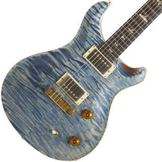 2007 PRS Modern Eagle Faded Blue Jean Denim | Available at Garrett Park Guitars | www.gpguitars.com