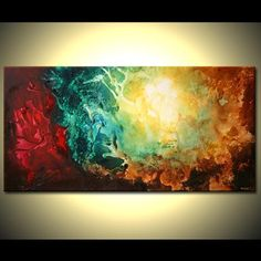 MADE-TO-ORDER PAINTING - Original Contemporary Modern Abstract Painting by Osnat As this is a MADE-TO-ORDER painting, it will be similar to the