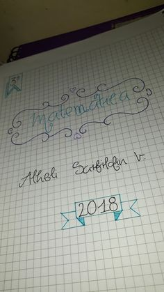 #caratulas #portadas #cuadernos #matematica #fuentes #apuntes #lettering #caligrafia #study #copy #notes Spelling, Banners, Back To School, Diy And Crafts, Notebook, Bullet Journal, Notes, Kawaii, Letters