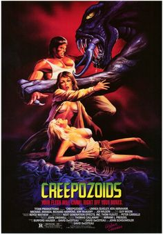 creepozoids, movie poster, creepozoides