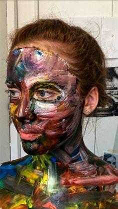 Halloween Face Makeup, Joker, Number, Fictional Characters, Art, Art Background, Kunst, The Joker, Performing Arts
