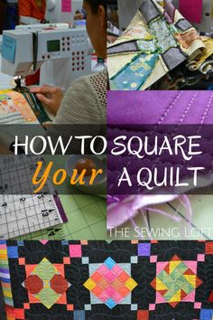 Learn How to Square a Quilt