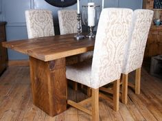 H&F Plank Cube Table - H&F Plank Dining Furniture