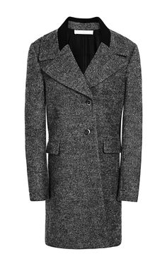 Shop Solid Wool Ribbed Collar Coat by Thakoon Addition for Preorder on Moda Operandi