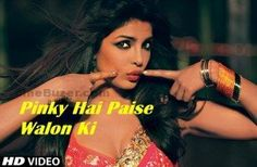 Pinky Hai Paise Walon Ki Full Video Song in HD - Zanjeer [2013]