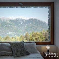 Integrado ao entorno natural, dormitório garante o máximo de conforto