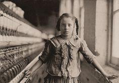 // Lewis Hine. Child Labor in America 1908-12. Preocupado por los trabajadores, menos favorecidos.