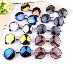 928845a11b356 ... China sun glasses Suppliers  New 2017 Colorful Vintage Sunglasses Women  Round Sun Glasses Coating Sunglass Shades Steampunk Oculos De Sol Feminino  Gafas