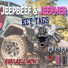 We have Key Tags!  Brand new item available at www.jeepbeef.com #jeepbeef #jeepher #myjeepbuild #jeep #jeepsummer #Padgram