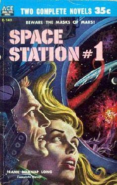 Frank Belknap Long, Space Station #1 (1957)
